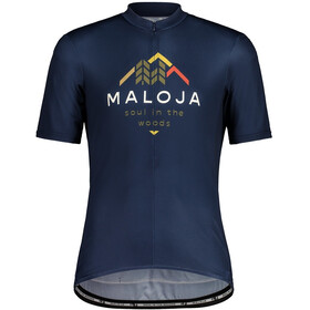 Maloja SchwarzerleM. 1/2 Short Sleeve Bike Jersey Men night sky